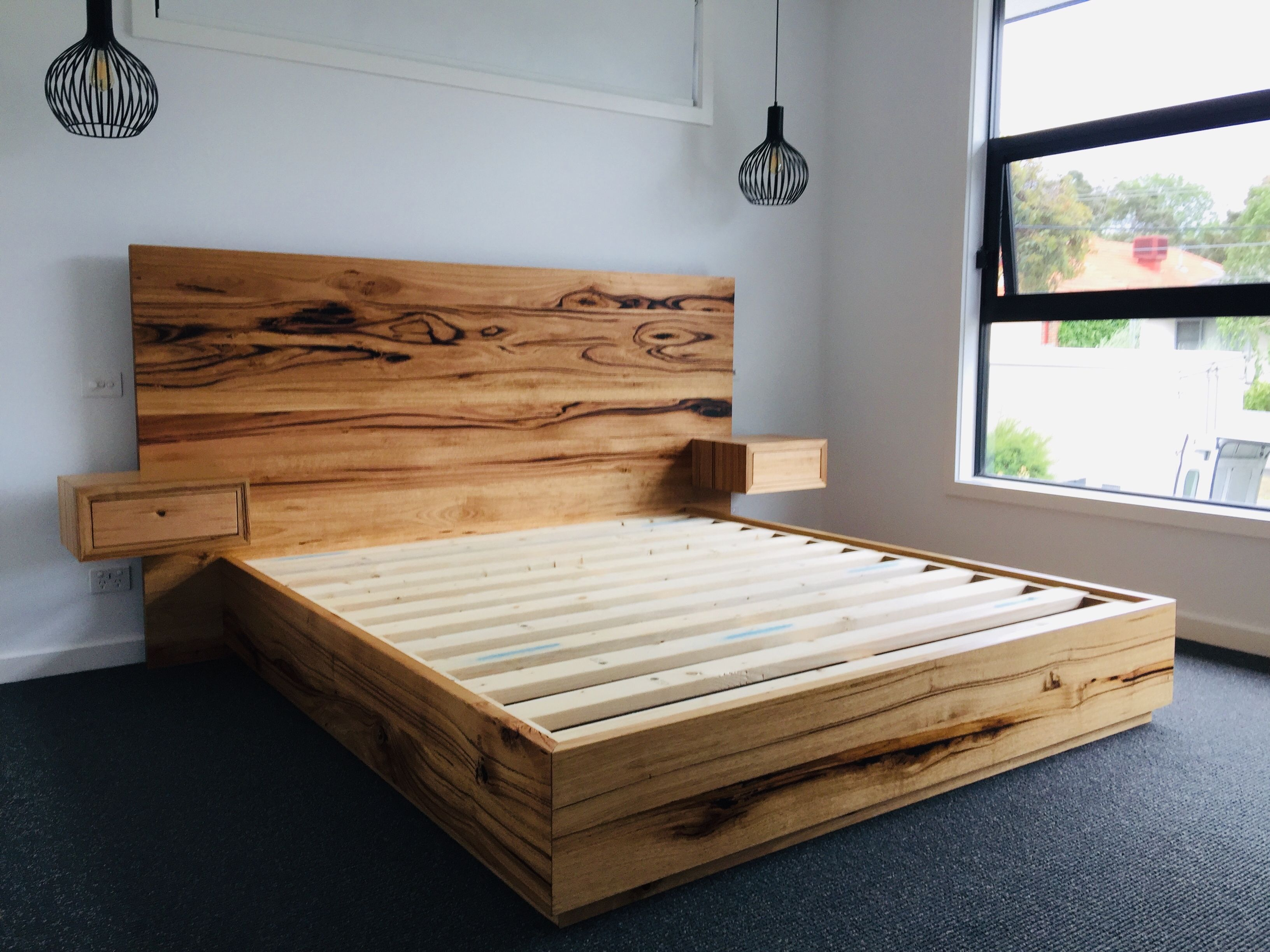 Brooklyn King Bed Timber Beds Furniture Dining Table Furniture