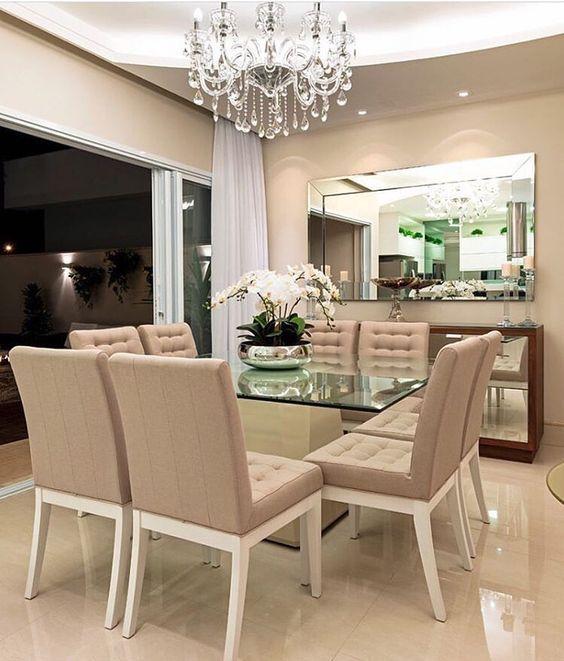 Comedores Modernos De Cristal Comedores Modernos Comedores Modernos Y Elegantes Comedores Modernos De Dining Room Contemporary Luxury Dining Room Home Decor