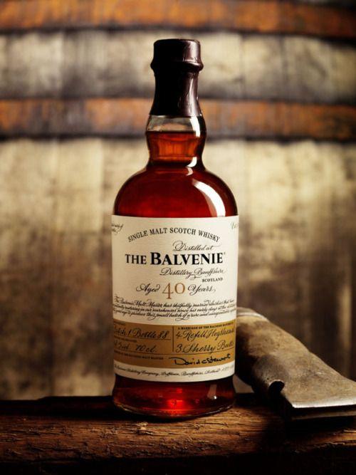The Balvenie Whisky 40 years