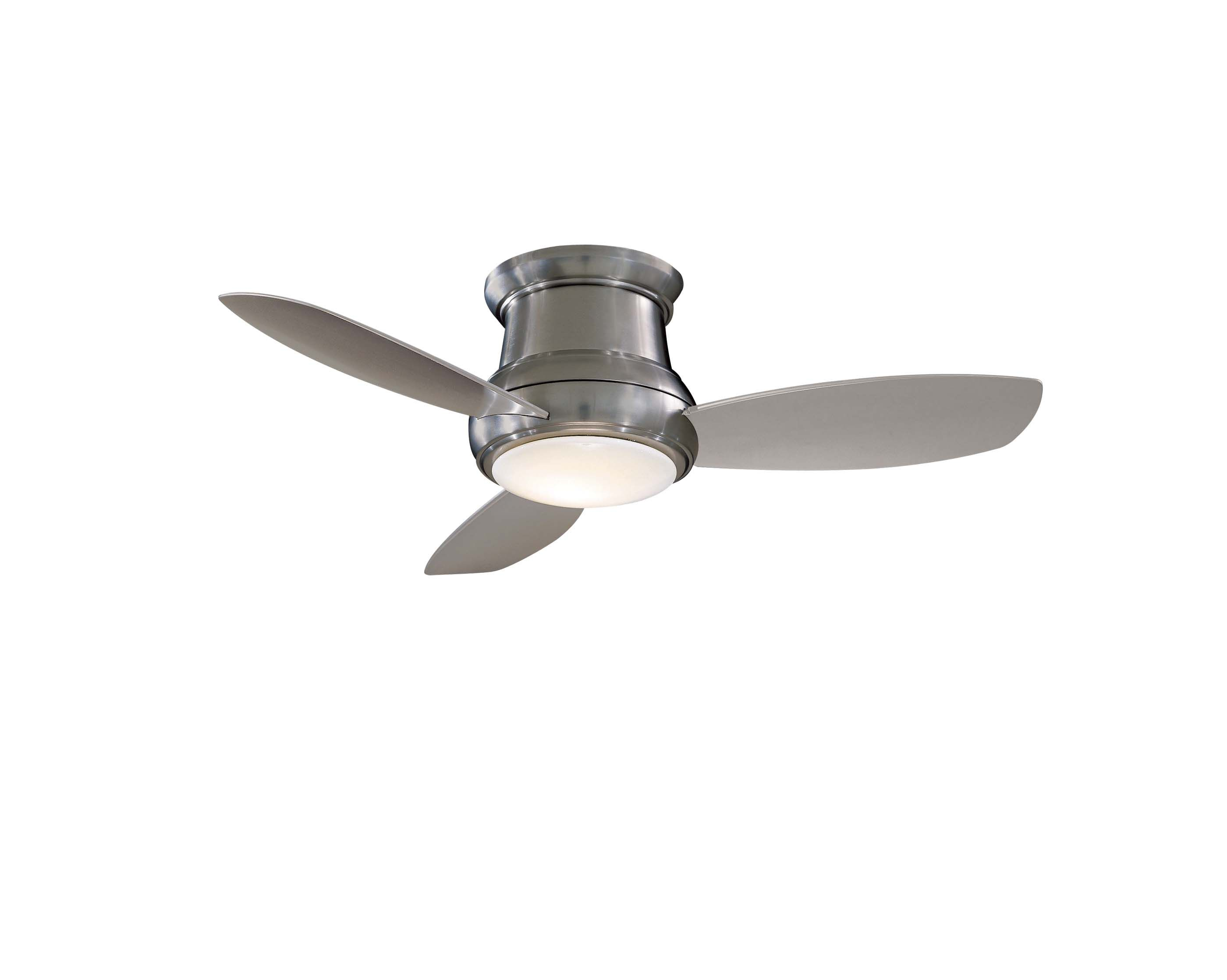 Concept Ii Ceiling Fan With Light By Minka Aire F518l Bn Ceiling Fan Flush Mount Ceiling Fan Minka Aire Ceiling Fan