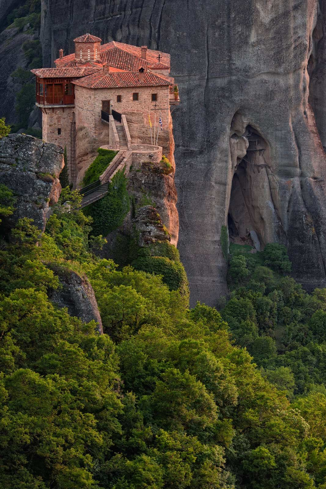 nunnerys | Roussanou Nunnery, Meteora, Thessaly, Greece ...