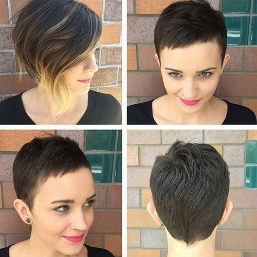 40 Short Haircuts For Girls With Added Oomph In 2019 Short Pixie