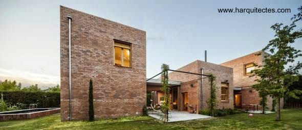 Casa de ladrillo visto buscar con google casa 1 for Casas modernas ladrillo