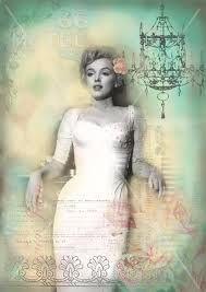 Digital mixed media photo art poster image vintage by KalaSupplies