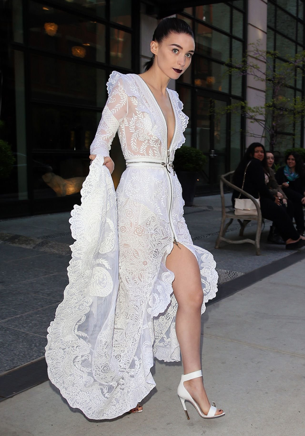Rooney Mara in Givenchy at the #MetGala | Lace | Pinterest ...