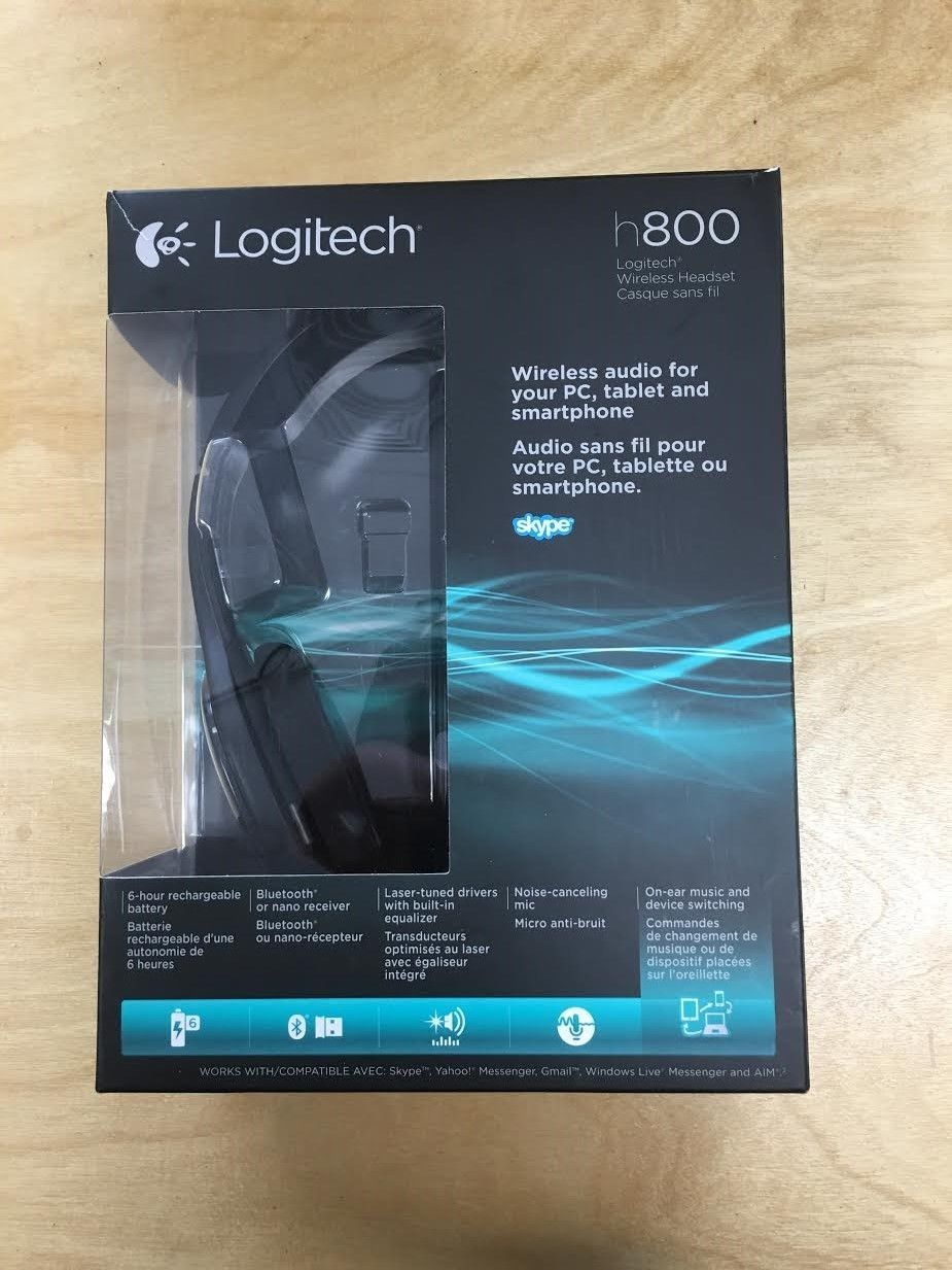 Nano receiver for wireless headset h800 - Logitech Wireless Headset H800