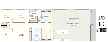 Image Result For 4 Bedroom Rectangular House Plans House Plans Floor Plans House Design