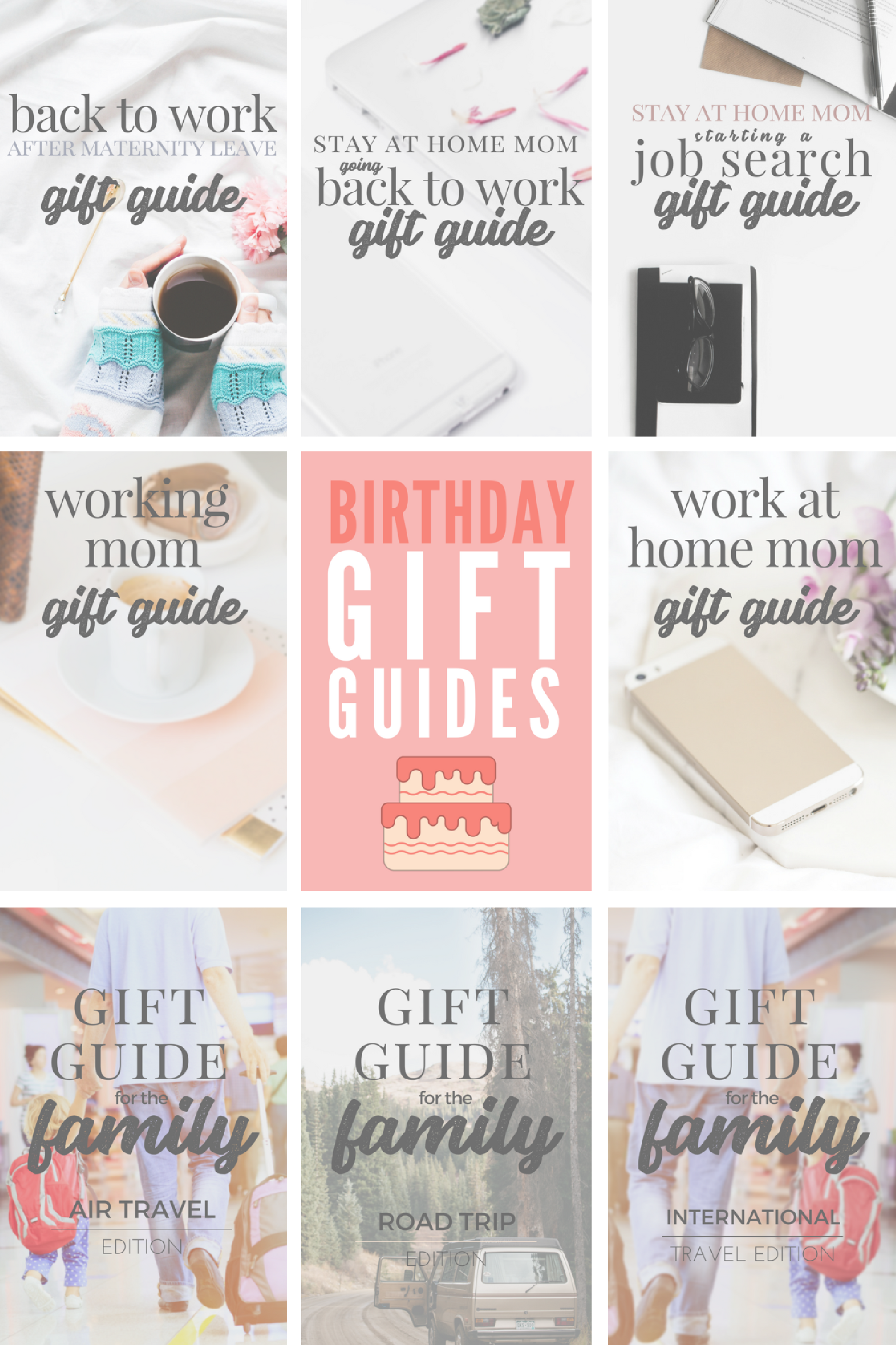 Great BIRTHDAY Gift Ideas For The Working Moms Work At Home Moms