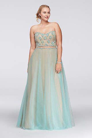 Dorable Davids Bridal Prom Dresses Plus Size Model - Wedding Plan ...