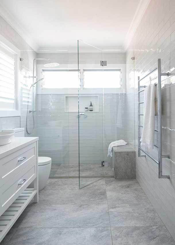 Cómo distribuir un baño pequeño de 5 metros   Ventanas ...