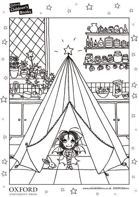 Isadora Moon Colouring Activity Sheet Download Now Moon Coloring Pages Dress Up Dolls Moon Crafts