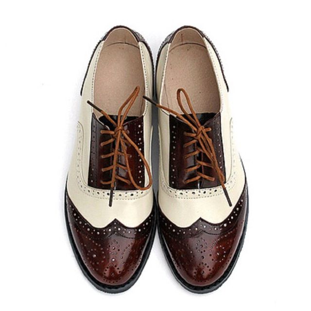 2016-Fashion-British-Style-Oxford-Brogue-Shoes-For-Women-Vintage-Carved-Bullock-Genuine-Leather-Flat-Shoes.jpg_640x640.jpg  (640×640) | Shoe | Pinterest ...