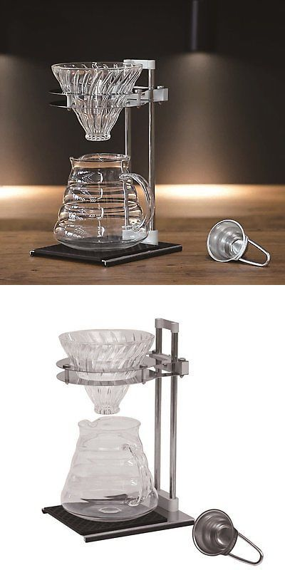Hario Coffee Drip Maker V60 Pour Over Stand Set VPOS 1506 SV Hand Drip