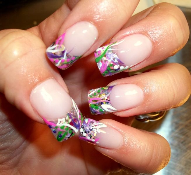 17 best images about 22 acrylic nail art ideas on pinterest nail art monogram nails and - Fingernails Designs Idea