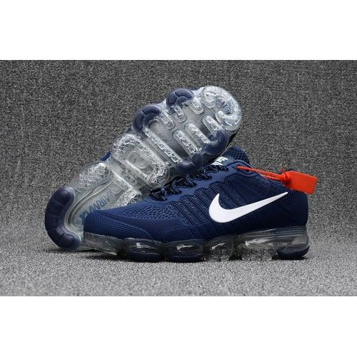 innovative design 3ade9 4aec0 Kjøp Nike Air VaporMax - Billig Herre Nike Air Vapormax 2018 Sko Bla Hvit  Shop