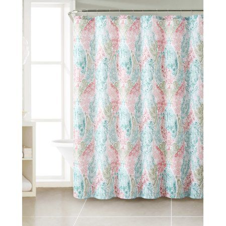 Home With Images Fabric Shower Curtains Colorful Curtains Painting Shower