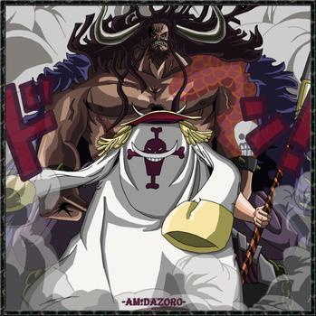shirohige vs Kaido in new world Devian Art 21c66ead0a2