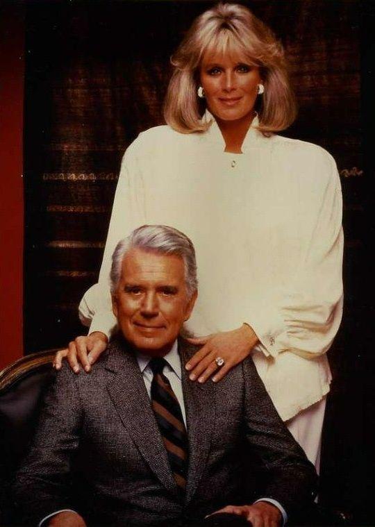 John Forsythe Linda Evans Dynasty Tv Shows Stars