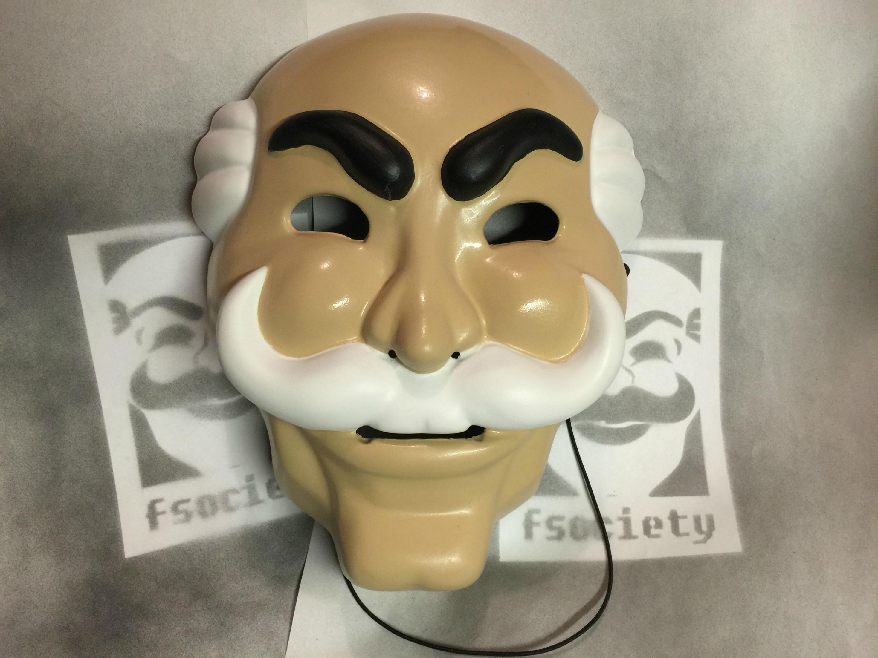 Mr. Robot Mask | Project: Mr Robot | Pinterest | Mr robot and Robot