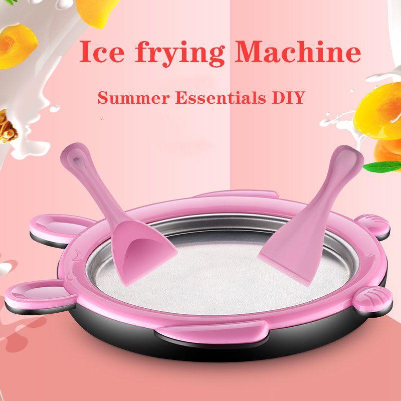 Buy Homemade Ice Cream Machine Home Small Mini Children Fried Ice