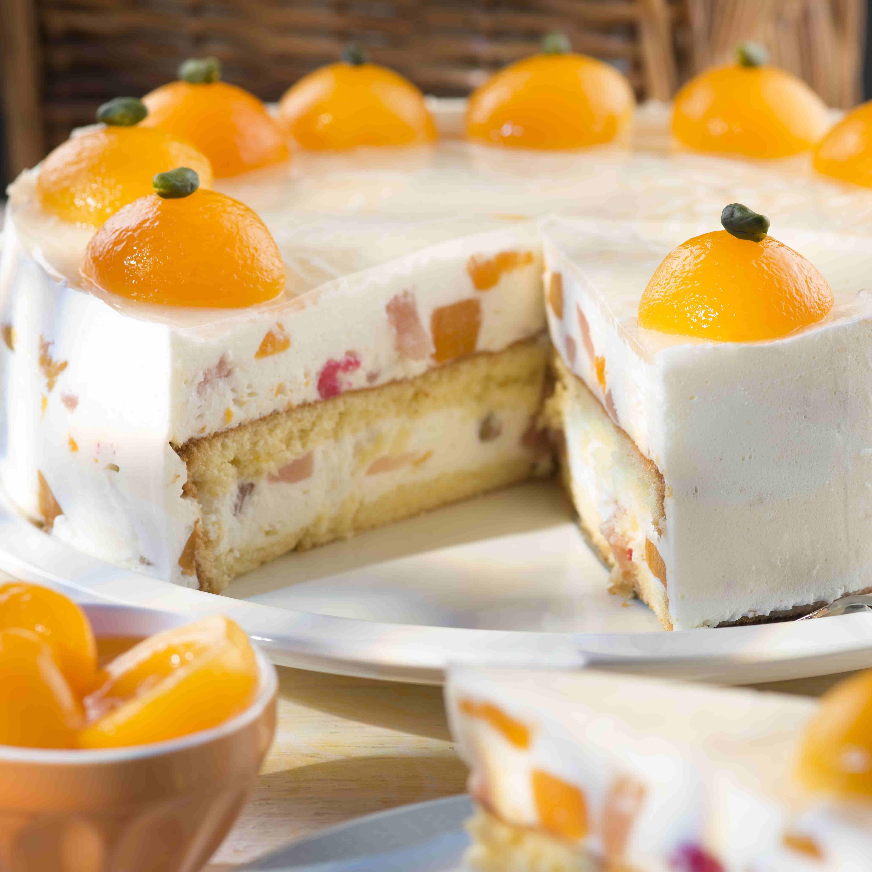 Fruchtige Joghurt Sahne Torte Rezept Pinterest Joghurt Torten