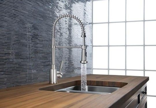 All About: Restaurant-Style Semi Professional Pre-Rinse Faucets ...