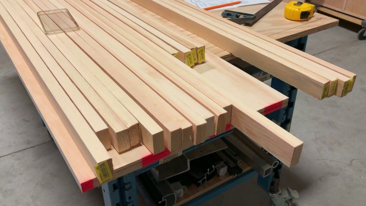 How to Buiild Bed the Frame for a DIY Murphy Wall Bed for