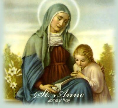 St anne pray for us
