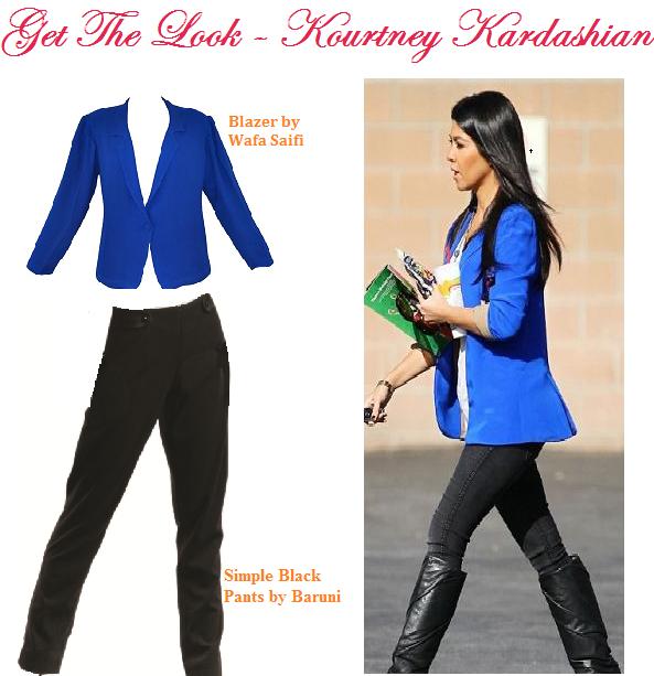 Get the Celebrity Look - Kourtney Kardashian at aura-b.com!