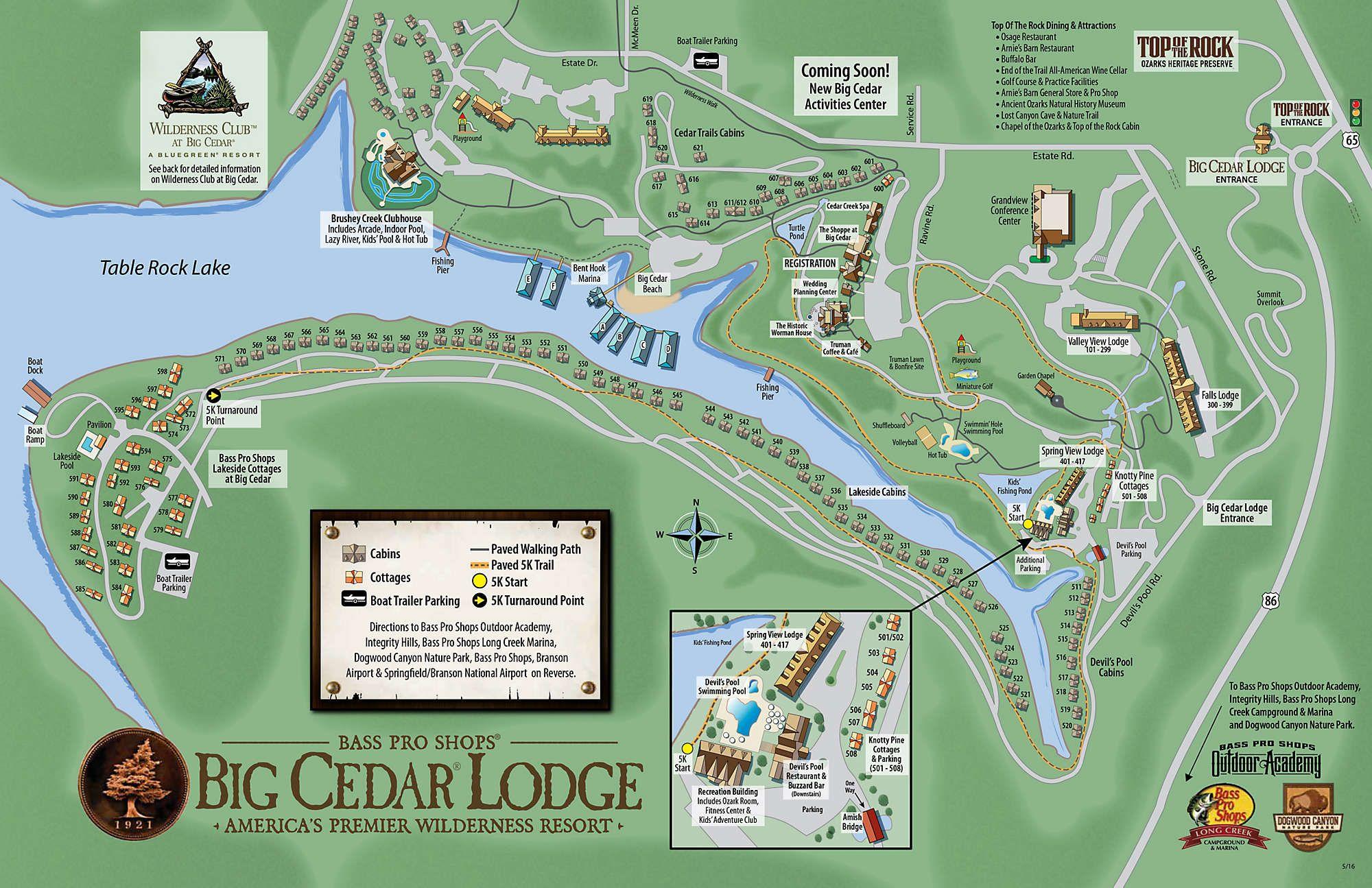 Bluegreen Wilderness Club at Big Cedar® Big cedar lodge