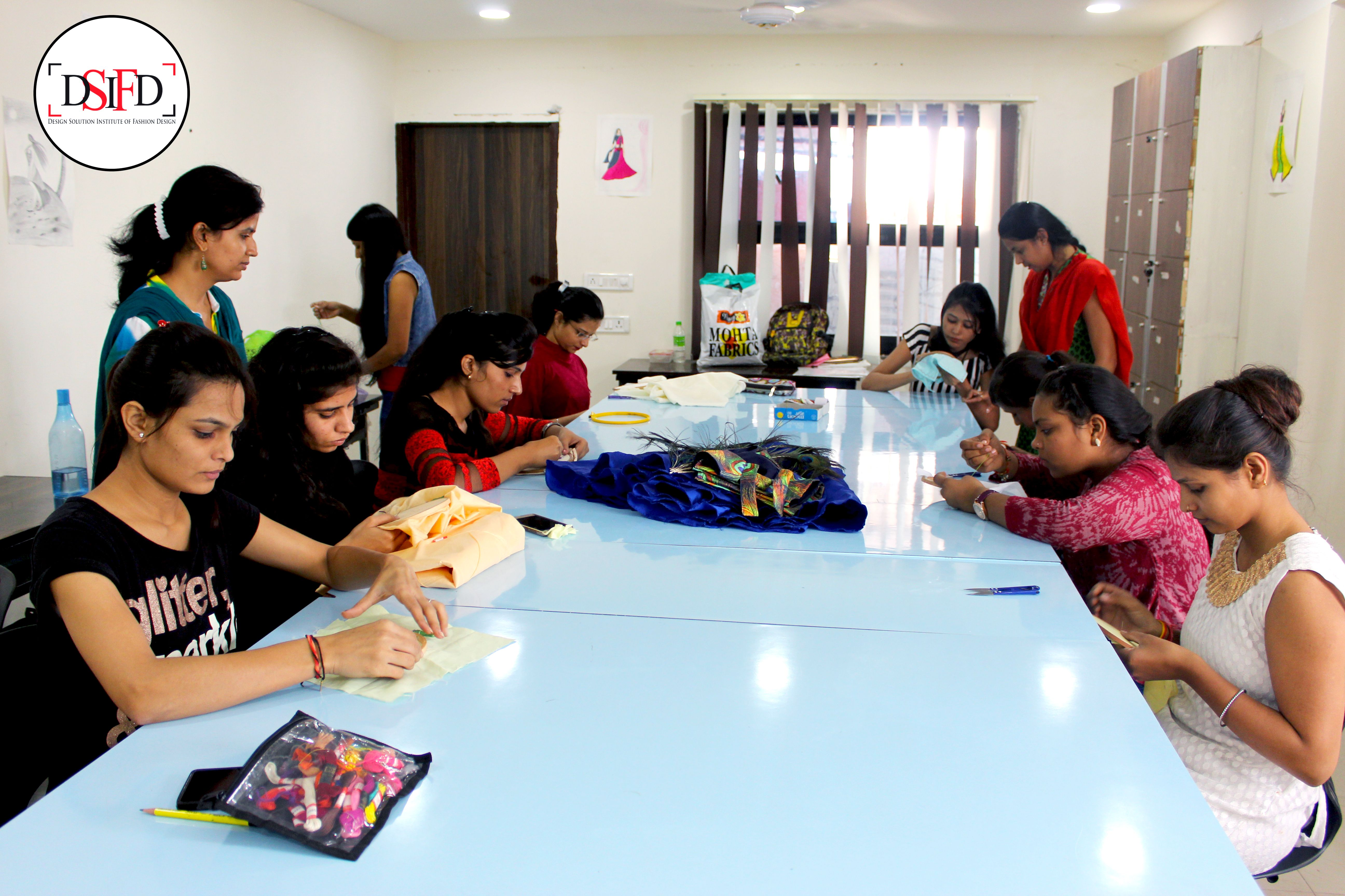 Image Of Our Institute S Fashion Designing Students Studying Designing Concepts Dsifd Joindsifd Lea Fashion Designing Colleges Study Design Concept Design
