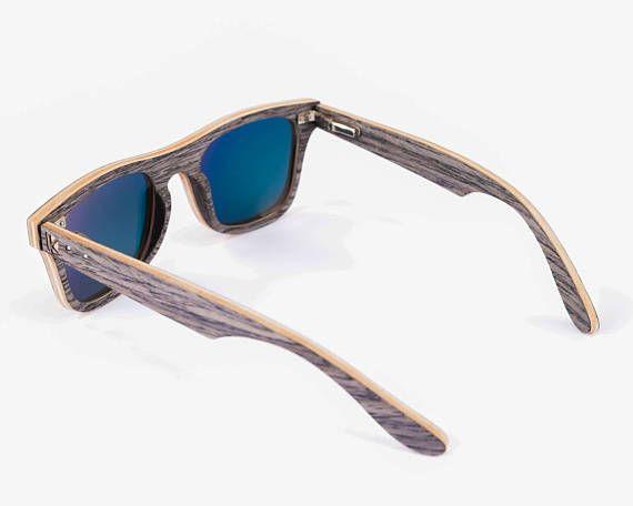 a68fdd530b Gafas de sol de madera hecho a mano gafas de madera regalo