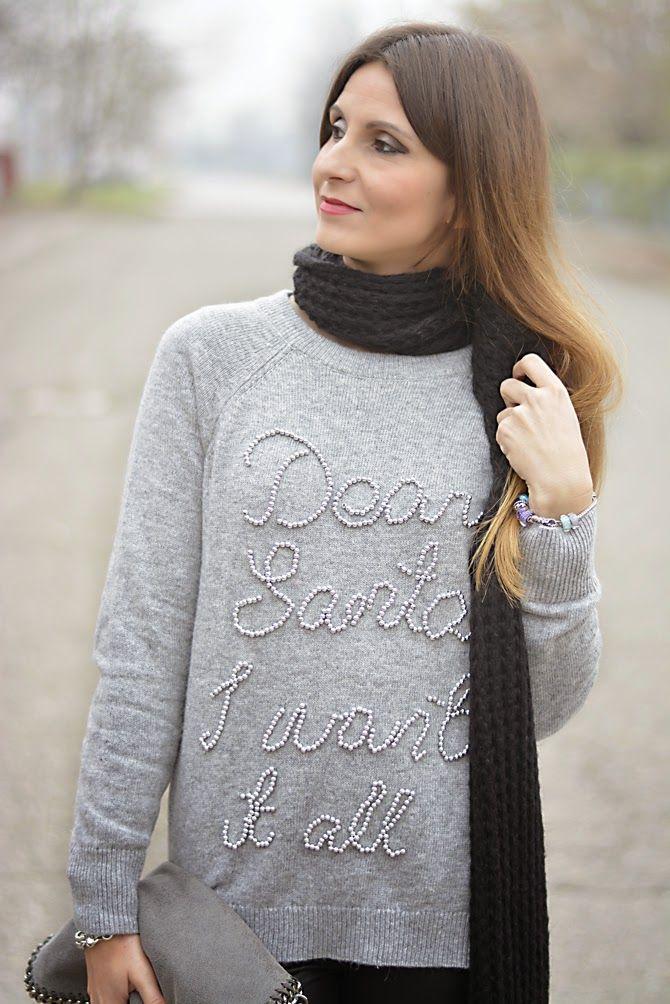 The pink carpet fashion blog by Lucy Diegoli: Grigio e argento, ed è quasi Natale