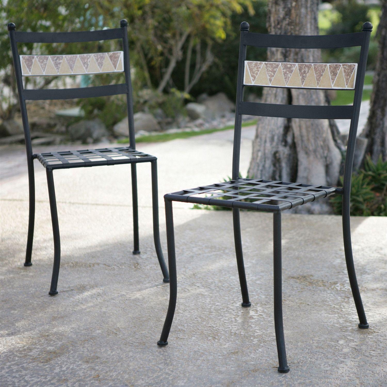 Fresh Wrought Iron Bistro Chairs
