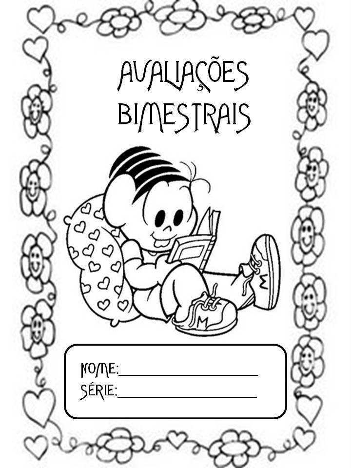 Capas Para Avaliacoes Do 2º Bimestre Capa De Avaliacao