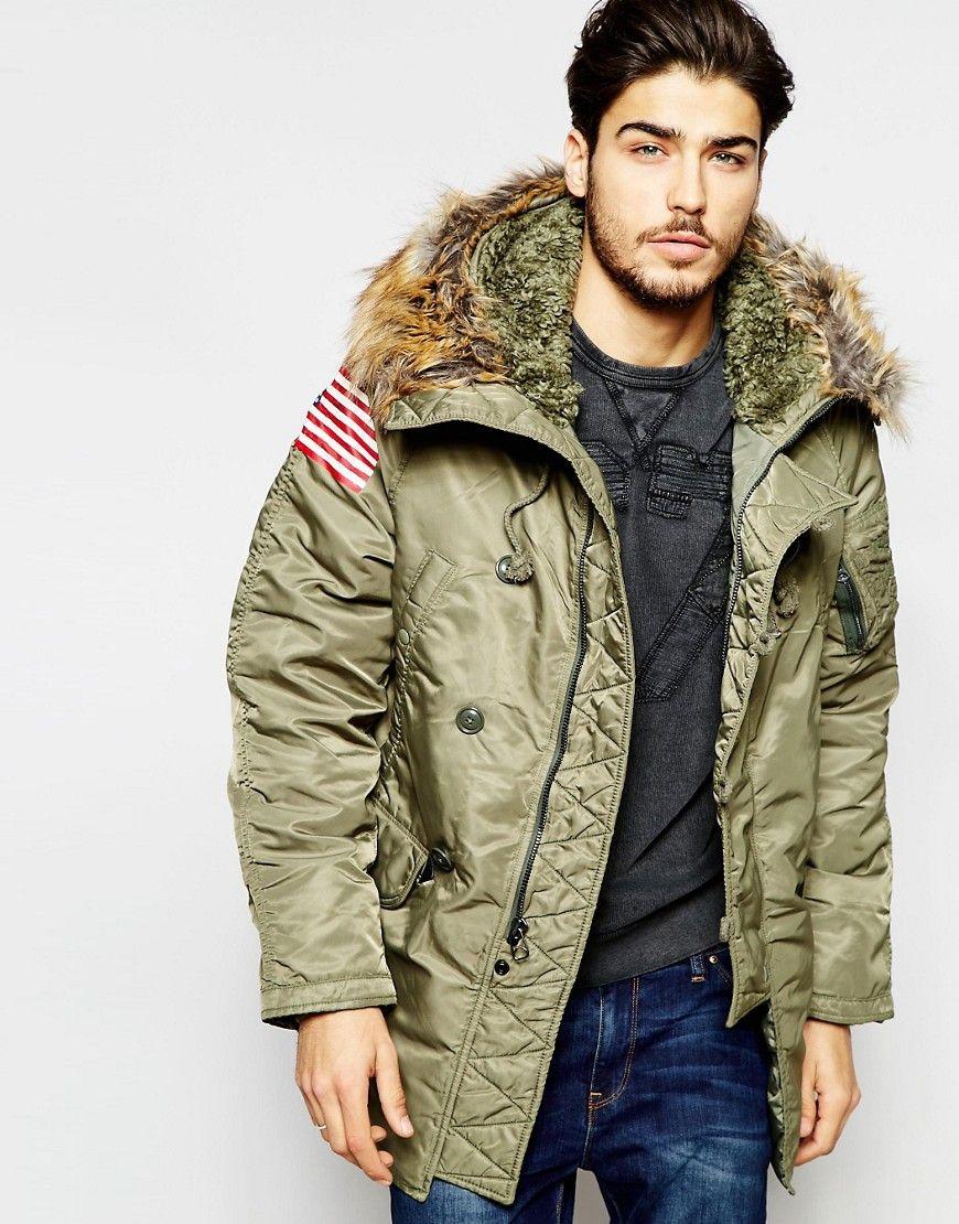 656cf4d63334 Denim & Supply by Ralph Lauren Parka with Faux Fur Trim | Fashion ...