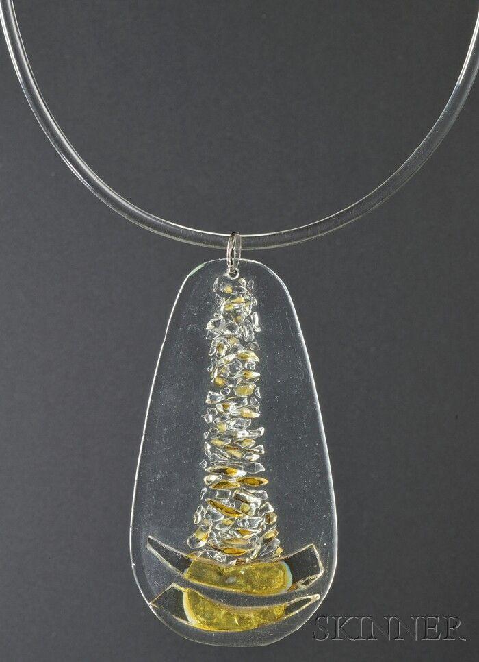 Solar-Lunar Necklace #12, Margret Craver