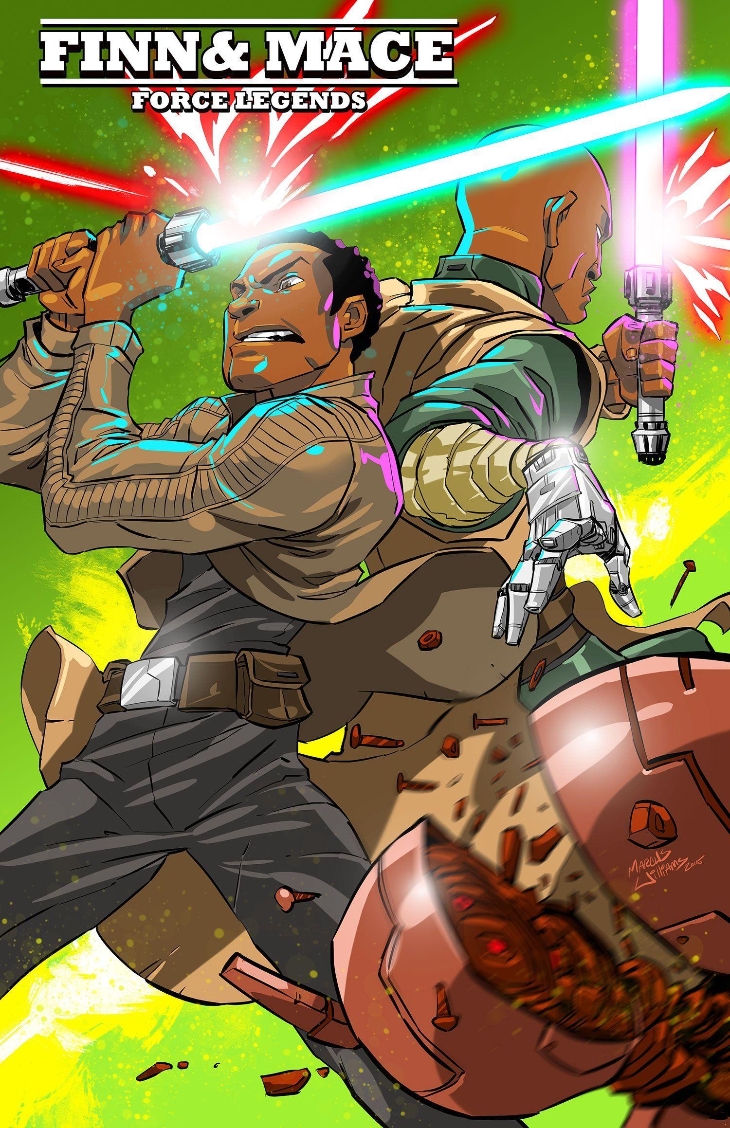 Marcus Williams is creating Artwork + Comics | Patreon