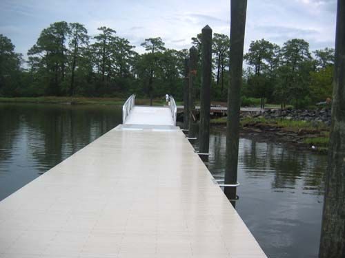 24'x48' Floating AccuDeck™ SUP dock installed in Austin, TX