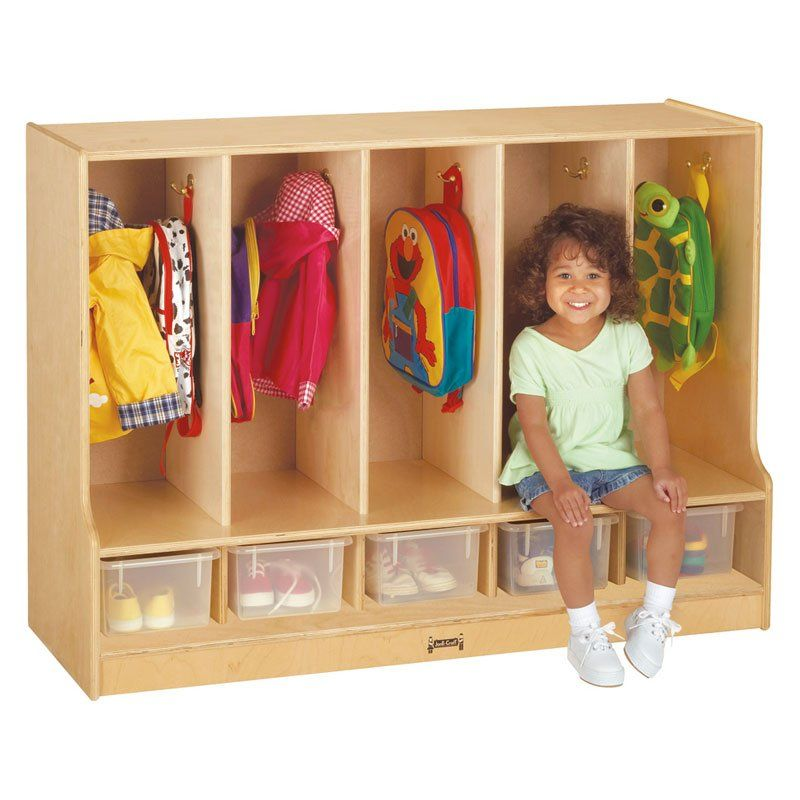 Toddler Shoe Storage Mudroom