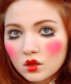 Doll Face Makeup Tutorial: Step by Step Picture Guide | Costumes ...