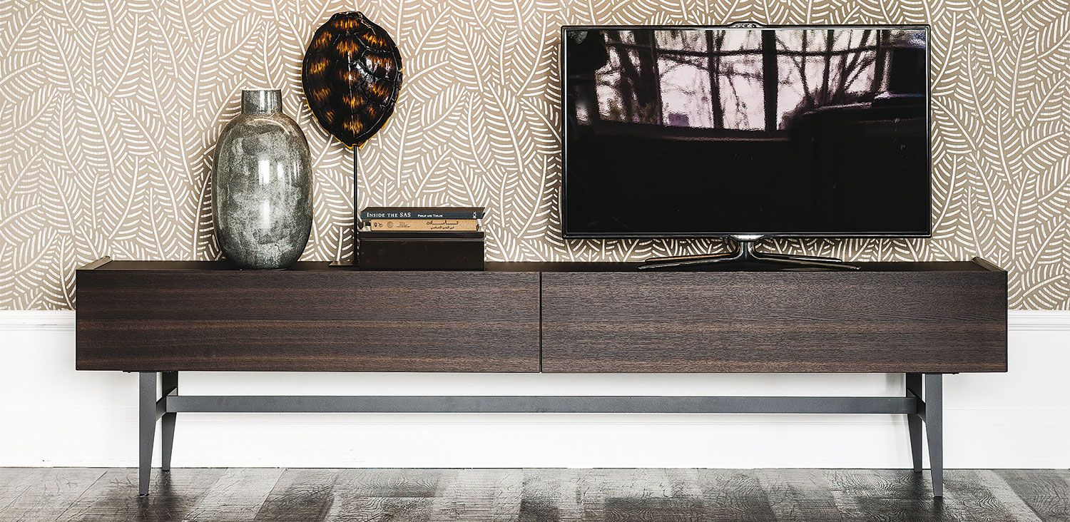 Cattelan Italia Horizon Sideboard By Alessio Bassan Console  # Table Tv D'Angle En Verre Design Transparent