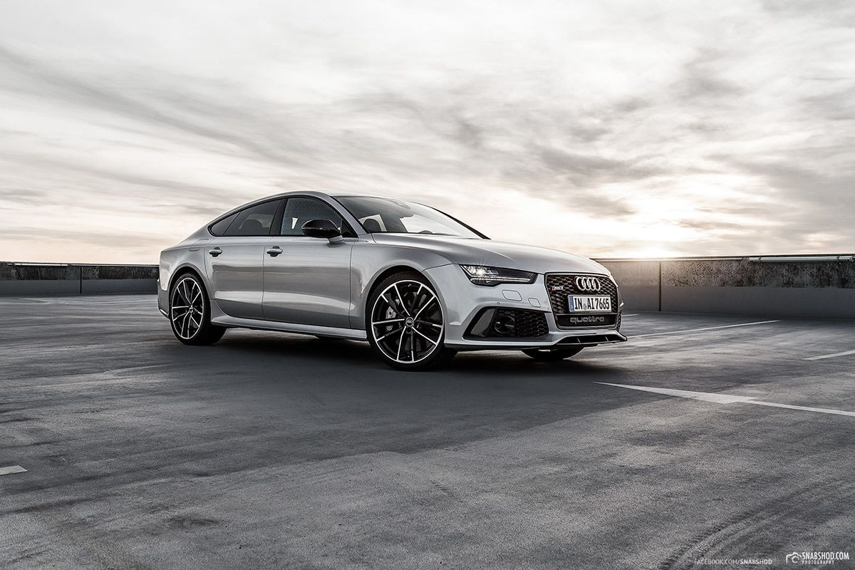 Silver Audi Rs7 2019 Cool German Car Photo Image Cool Cars 2019