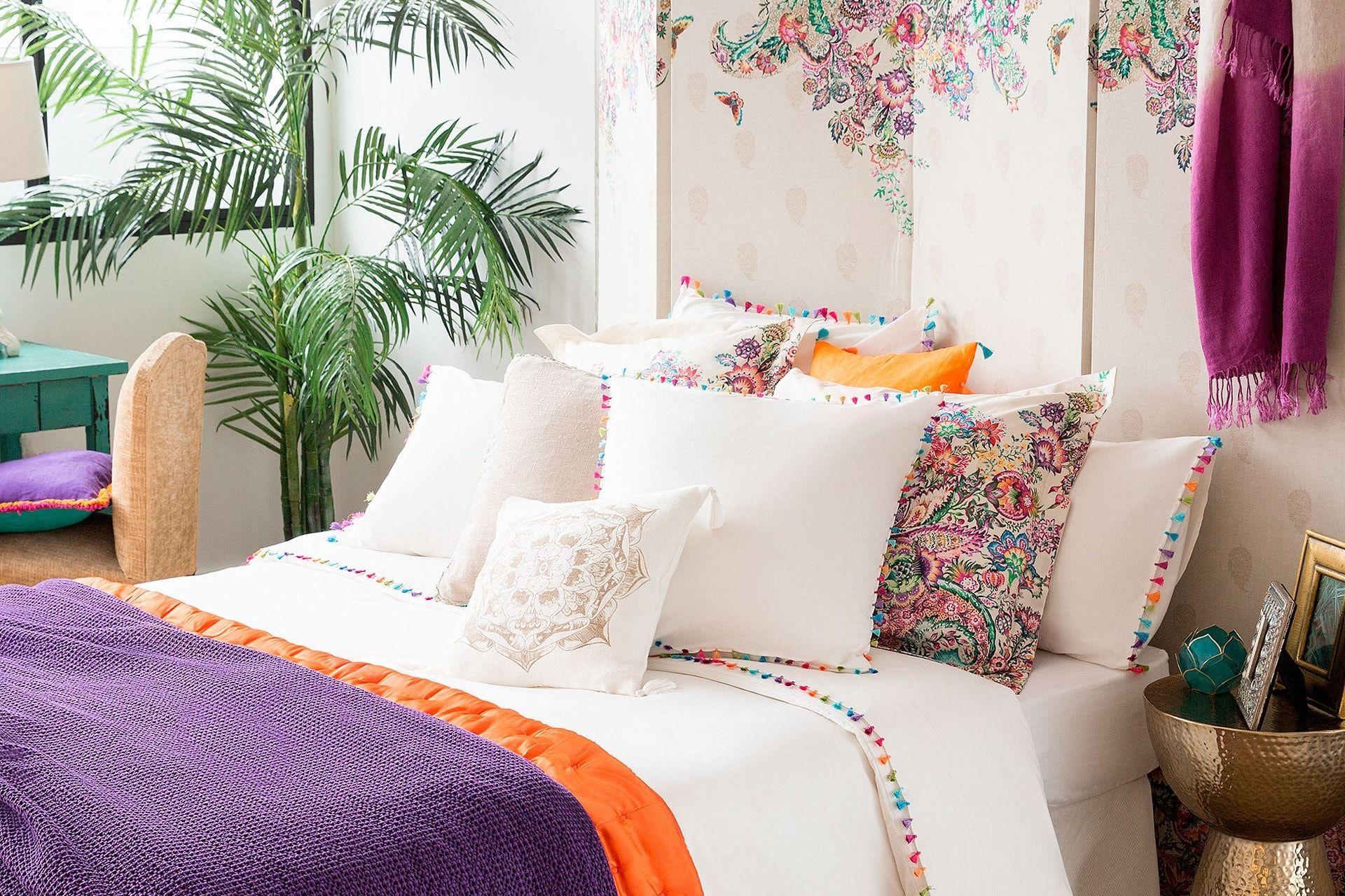 linge de lit ponpon de zara home | zara home bedroom