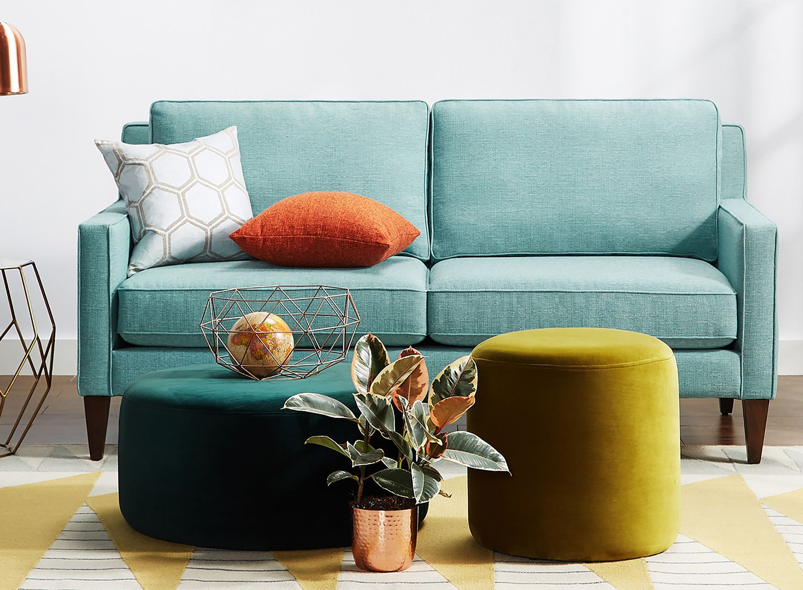 The Best Loveseats According To Small Space Dwellers Couches For Small Spaces Sofas For Small Spaces Small Loveseat