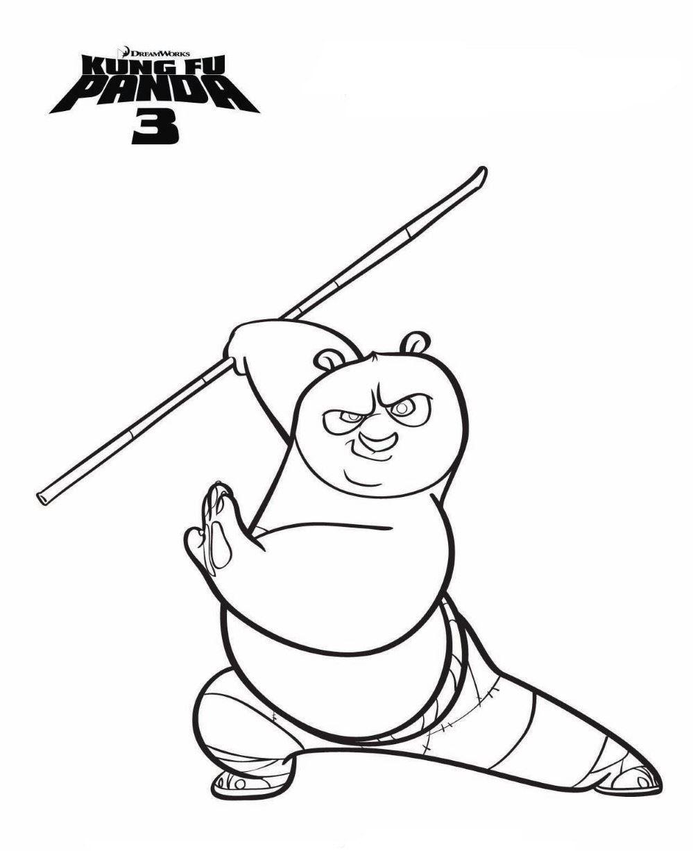 Myndaniðurstaða fyrir kung fu panda 3 coloring pages | okt | Pinterest