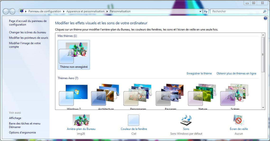 Windows 7 Comment Changer Mon Fond D Ecran Clubic Comment Changer Fond Ecran Page D Accueil