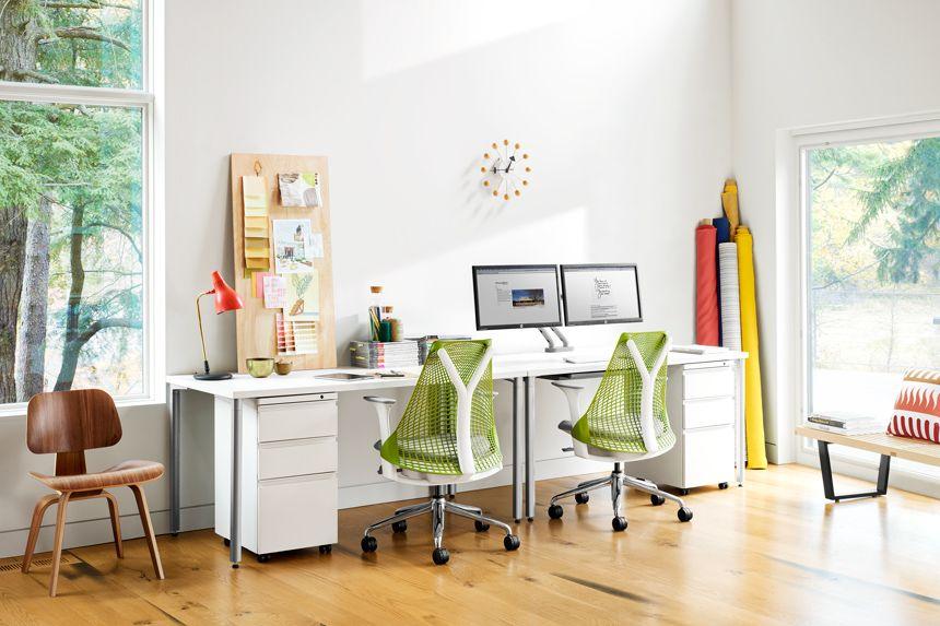 Everywhere Rectangular Table Sayl Chair Best Office Chair