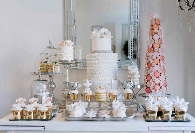 Sweet Table Styling Cake Geek Magazine Wedding Dessert Table Sweet Table Sweet Table Wedding
