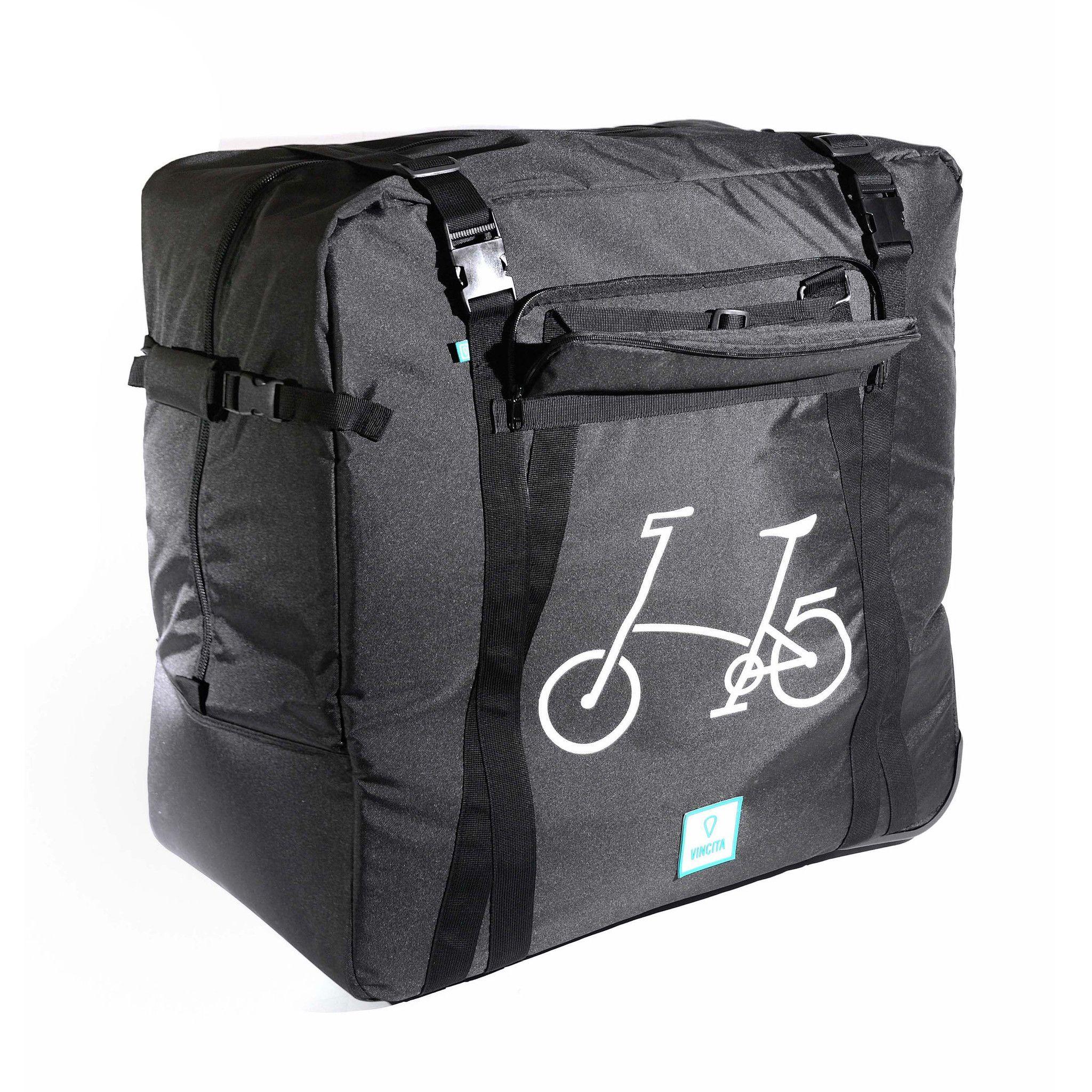 Set 2 Soft Transport Bag For Brompton B132b Bike Cover Bike